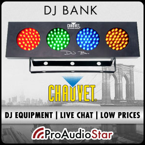 ProAudioStar-The #1 source for Chauvet Lighting including the DJ Bank