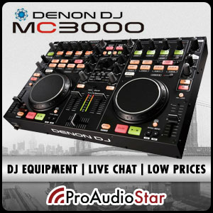 ProAudioStar-The #1 source for Denon DJ Gear including the MC3000