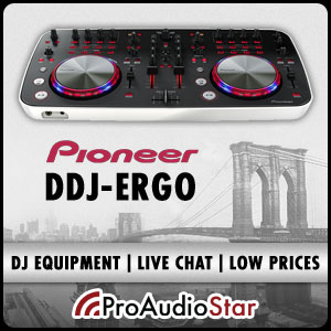 ProAudioStar-The #1 source for Pioneer DJ Gear including the DDJ-Ergo